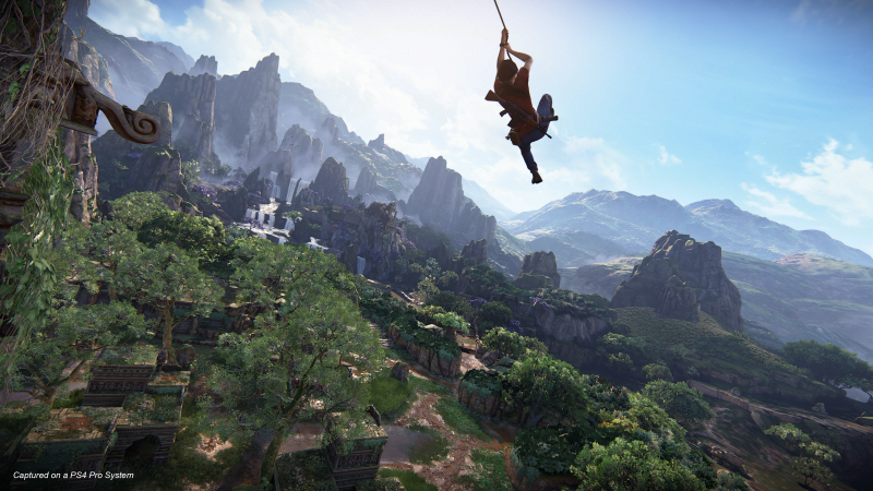 Uncharted 4 – The Lost Legacy - Grappling hook