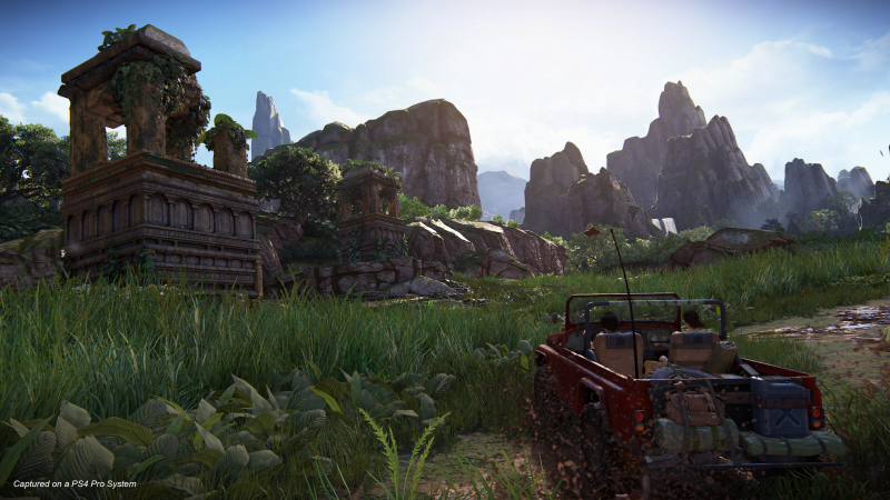 Uncharted 4 – The Lost Legacy - Moeras