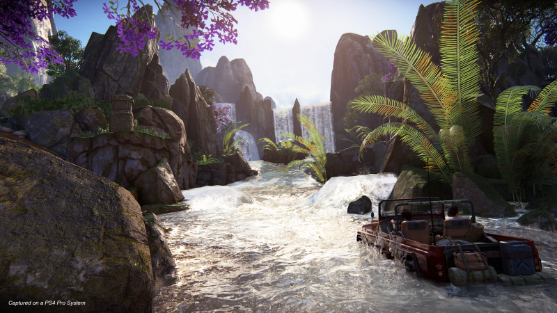 Uncharted 4 – The Lost Legacy - Natte boel