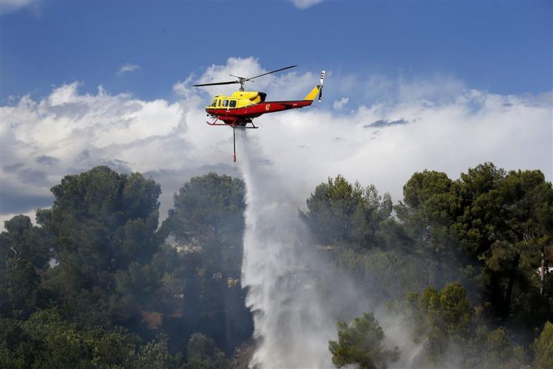 Bosbrand Frankrijk: evacuatie 10.000 mensen