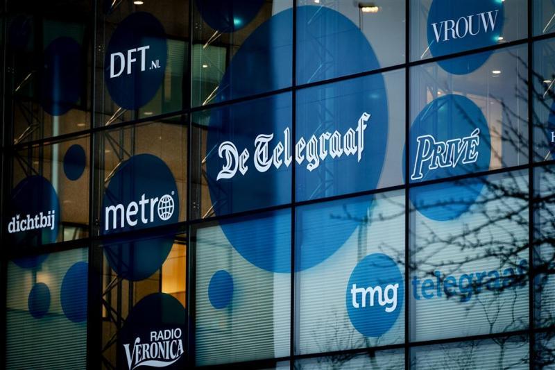 Moederbedrijf De Telegraaf duikt in het rood