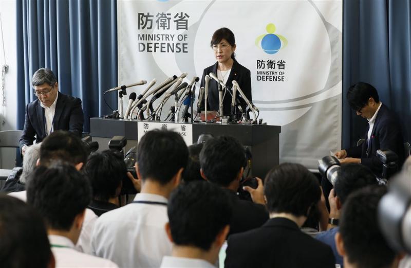 Japanse minister van Defensie weg na doofpot