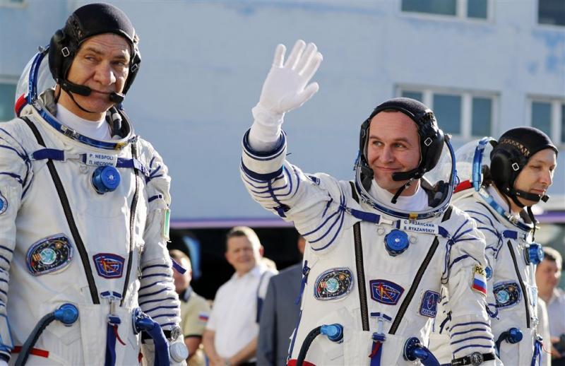 Drie nieuwe bemanningsleden voor ISS