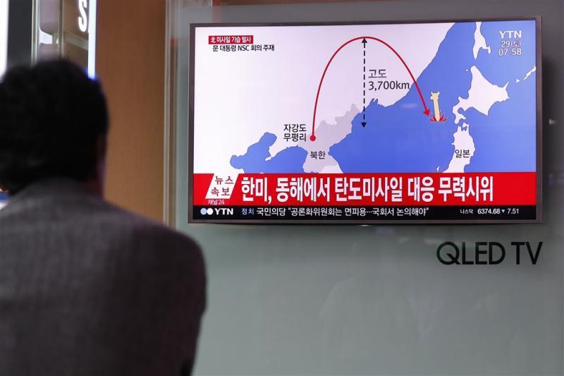 VS en Zuid-Korea reageren met schietoefening