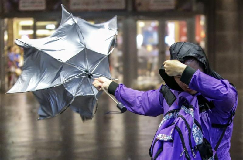 80 gewonden bij tyfoon in Taiwan