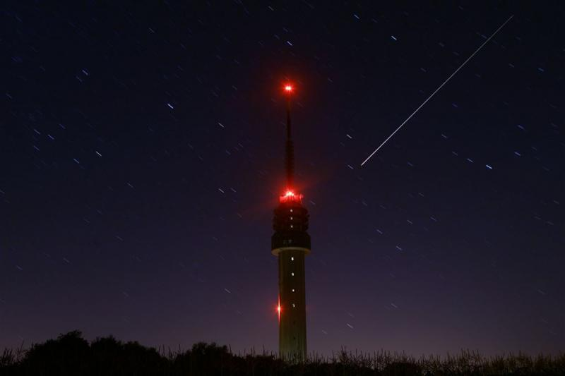 'Goed weer om vannacht meteoren te zien'