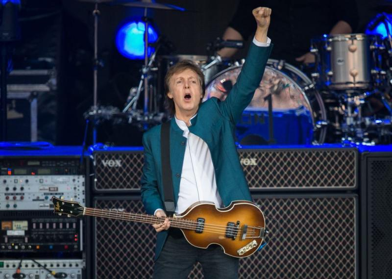 'Paul McCartney maakt nummer over Trump'