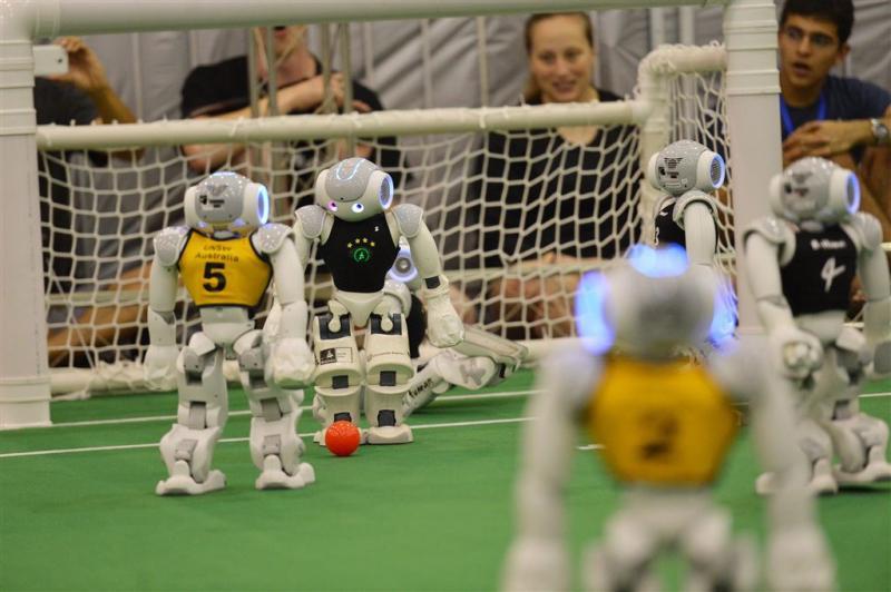 Nederland grijpt naast RoboCup