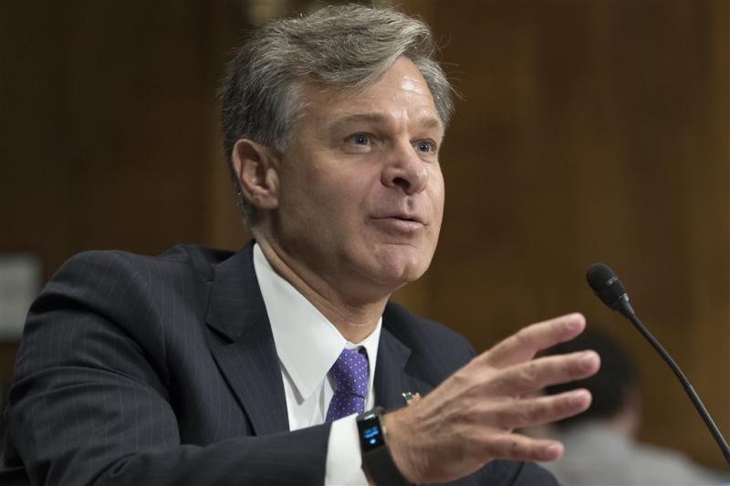 Senaat stemt in met Wray als FBI-directeur
