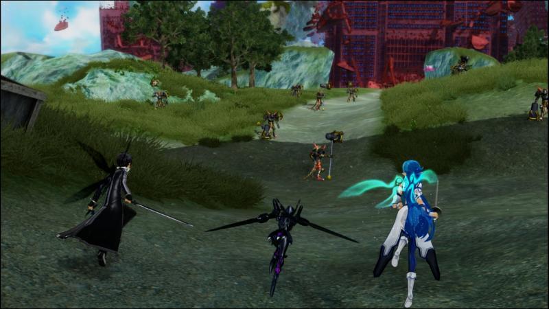 Accel World vs Sword Art Online: Millennium Twilight (Foto: Bandai Namco)