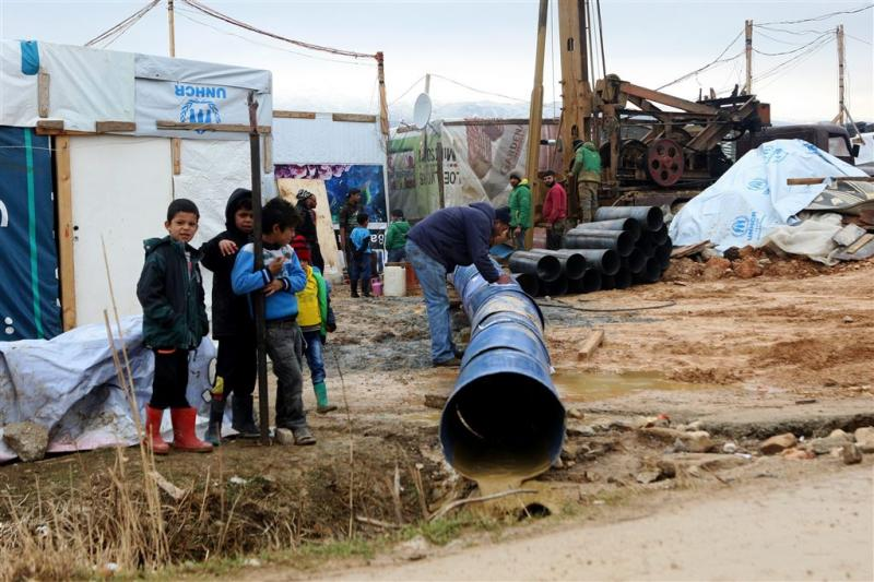 Vluchtelingen keren terug naar Syrië