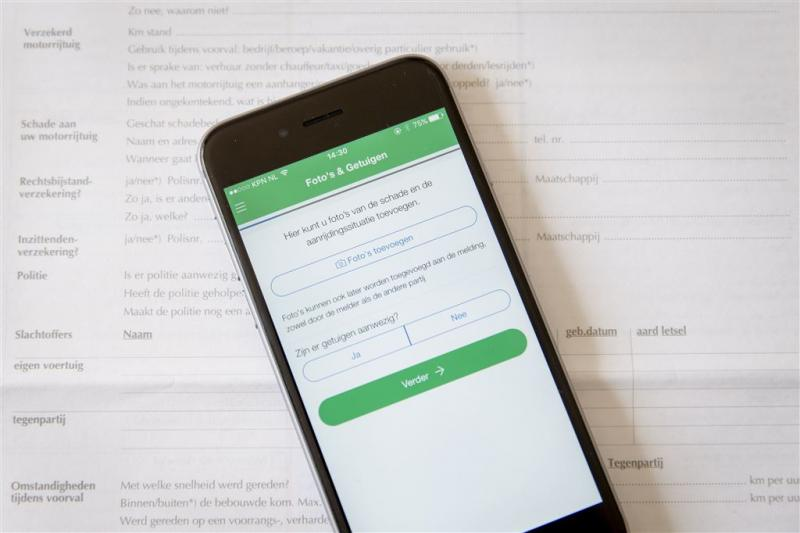 Datalek bij app Mobielschademelden