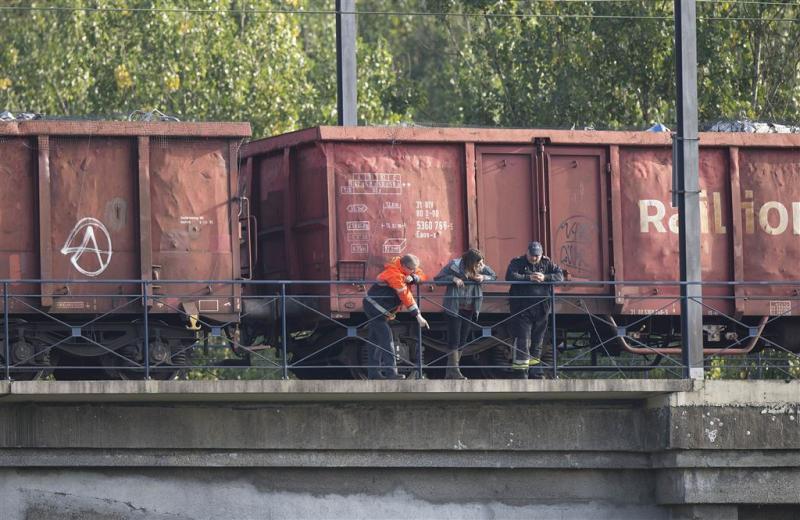 Ontsporing trein met gevaarlijke stoffen in VS