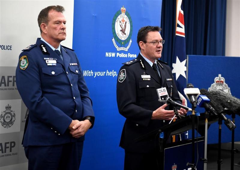 Politie Sydney voorkomt twee aanslagen