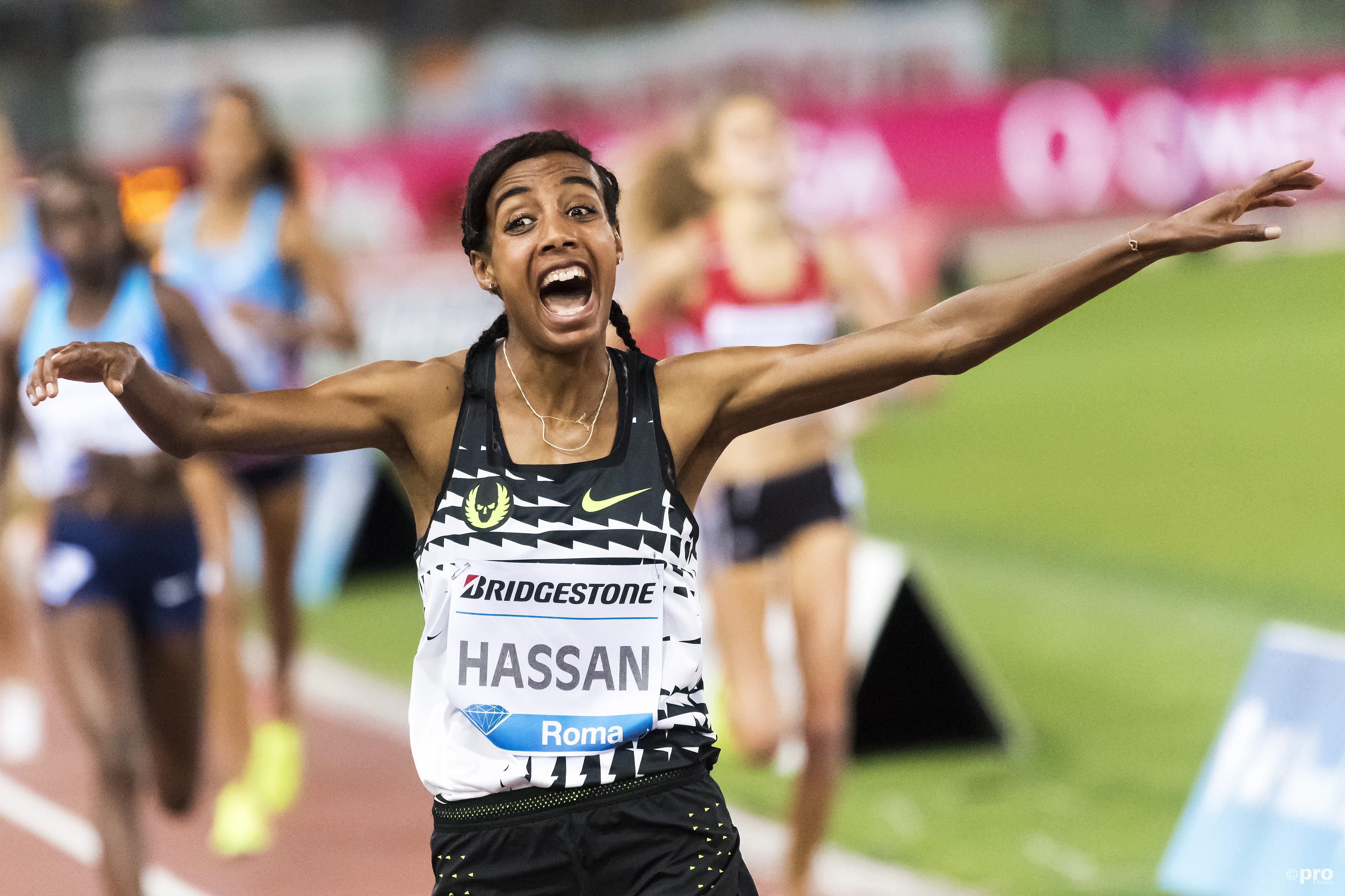 Sifan Hassan begint vandaag aan haar jacht op de wereldtitel op de 1500 meter (Pro Shots/Insidefoto)