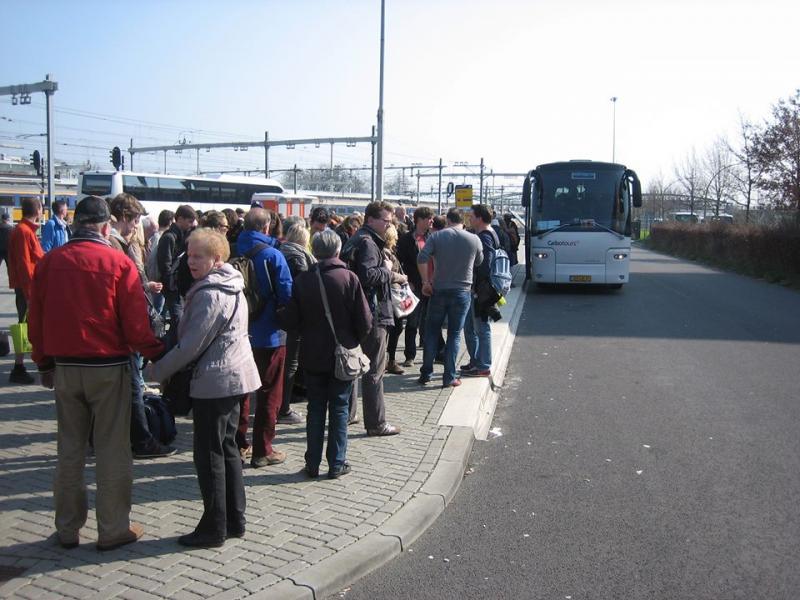 NS faalt met businzet Eindhoven (Foto: Voor Beter OV)