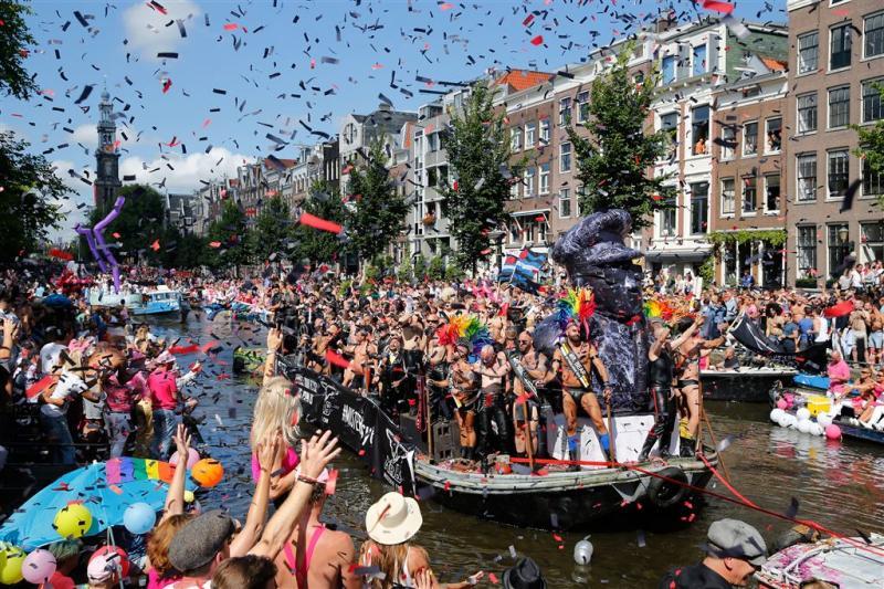 Zware statements tijdens Canal Parade