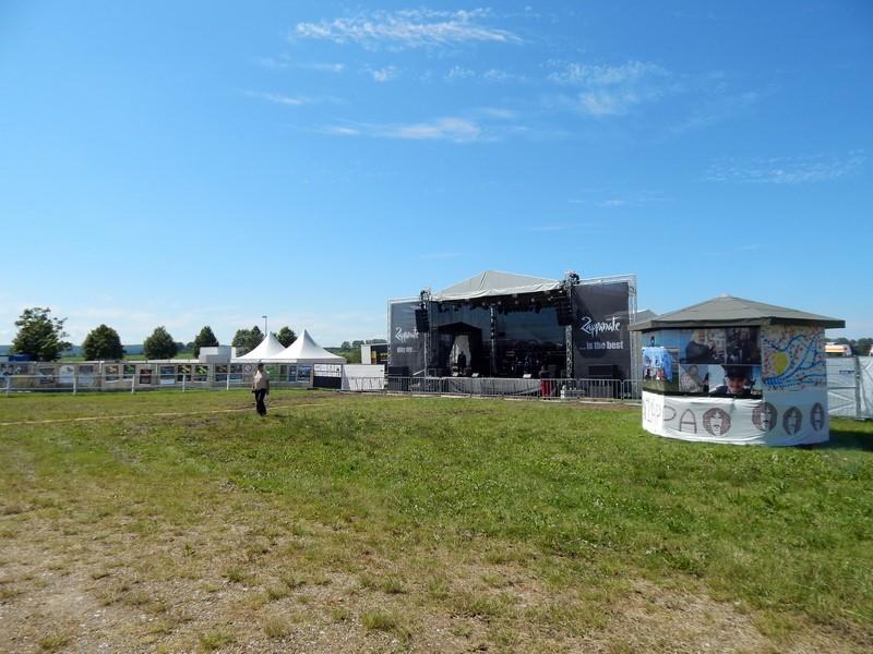 bazbo was afgelopen week op een festival in Noord Duitsland. Zo te zien had hij er goed weer bij. (Foto: bazbo)
