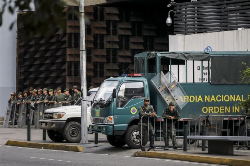 Leger Venezuela drukt opstand de kop in