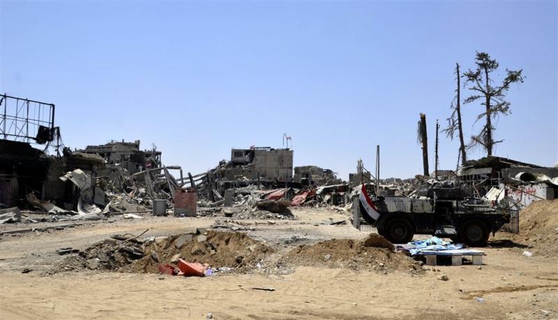 'Gifgasgranaten slingeren rond bij Mosul'