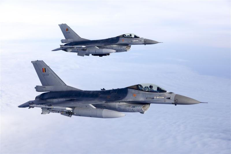 F-16's zorgen voor onrust in Zeeland