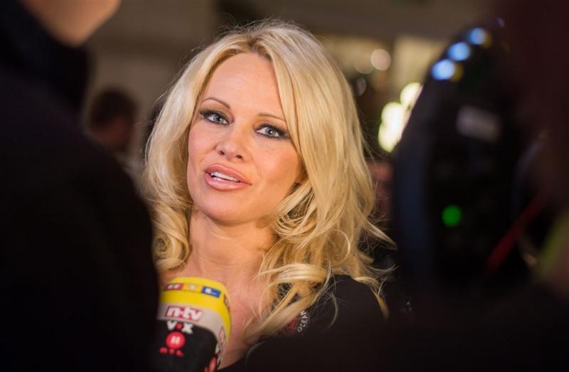 Pamela Anderson en Michael Madsen naar Amsterdam (Foto: ANP)