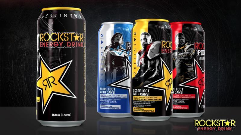 Rockstar Energy Drink Destiny 2
