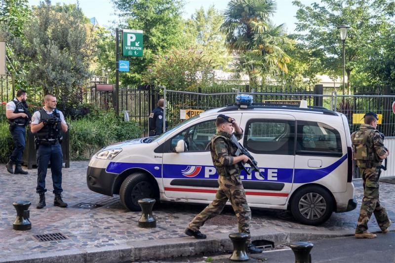 'Franse politie arresteert man op snelweg'