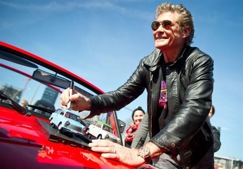 Hasselhoff werkt aan reboot Knight Rider