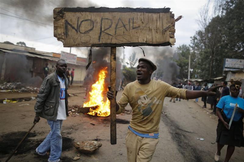 Bende valt stembureau in Kenya aan
