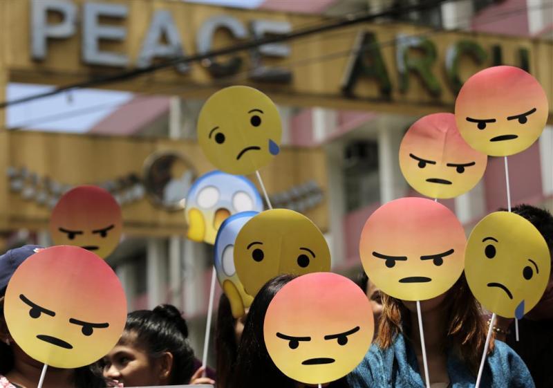 Roodharige emoji's in de maak