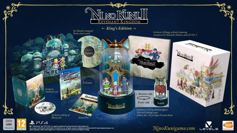 Packshot Ni No Kuni 2: Revenant Kingdom - King's Edition (Foto: Bandai Namco)