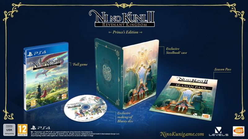Packshot Ni No Kuni 2: Revenant Kingdom - Prince's Edition (Foto: Bandai Namco)