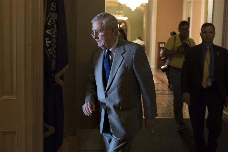 Trump hekelt Republikeinse leider Senaat