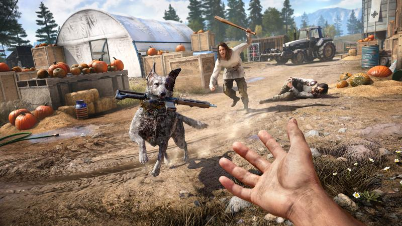 Far Cry 5 - Dog (Foto: Ubisoft)