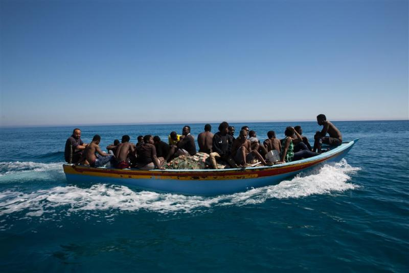 Opnieuw migranten overboord gezet bij Jemen