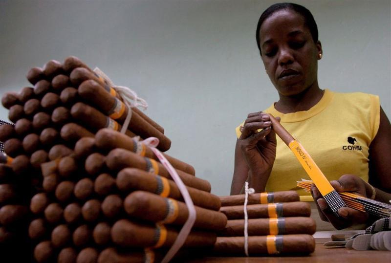 Cuba hoopt op zucht naar rum en sigaren