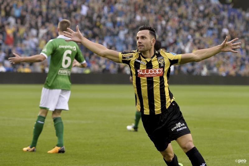 Bruns zet met vroege goal Vitesse op het juiste spoor (Foto: Pro Shots/Paul Meima)