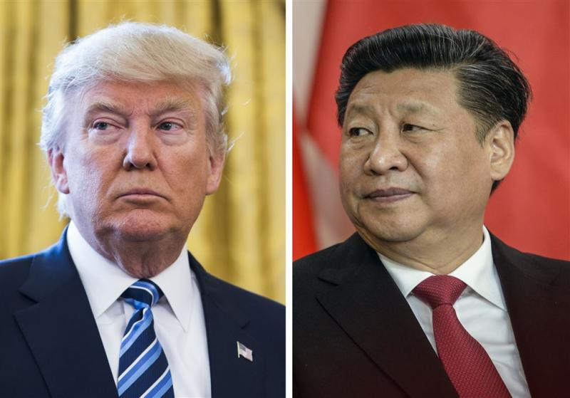 Trump belt met China over Noord-Korea