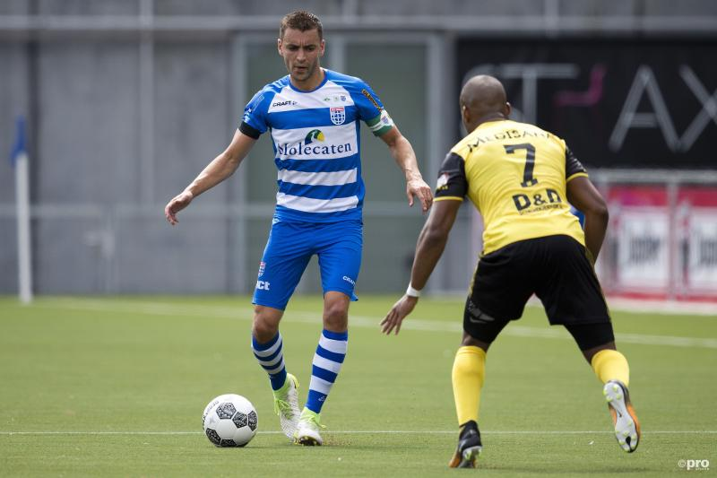 Van Polen in hoofdrol bij zege PEC Zwolle (Foto: Pro Shots/Niels Boersema)