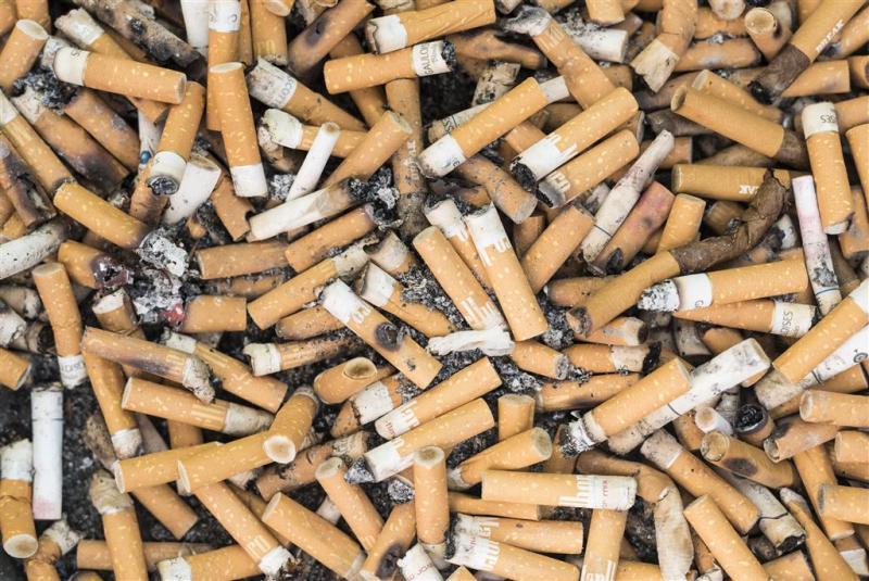 3700 sigarettenfilters opgeruimd van strand