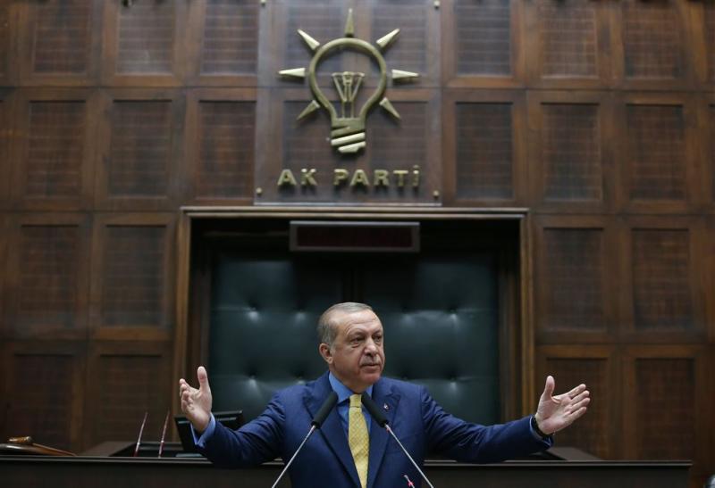 Erdogans AKP viert 16-jarig bestaan