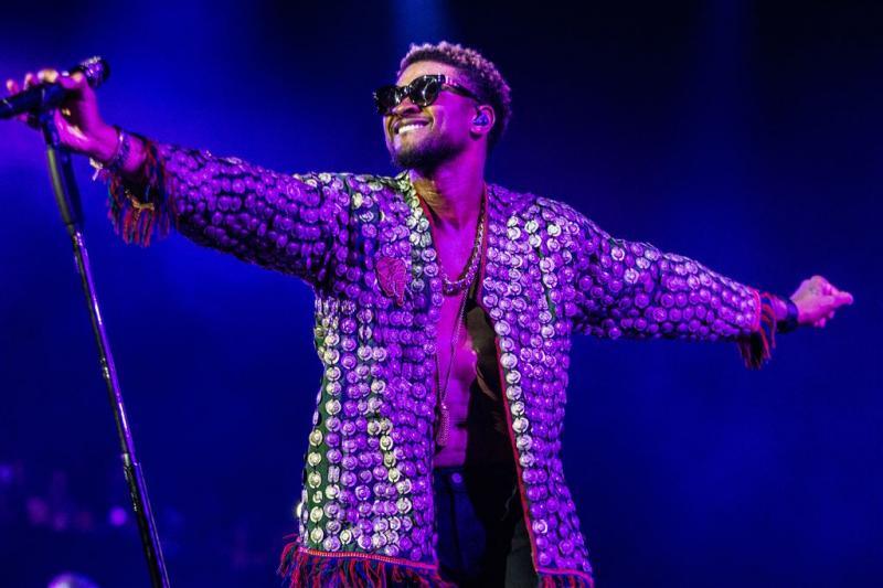 Usher had geen tijd voor seks in hotel