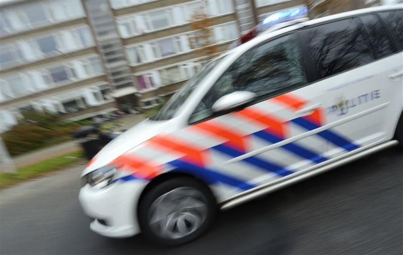 Politieauto onder de cocaïne na achtervolging