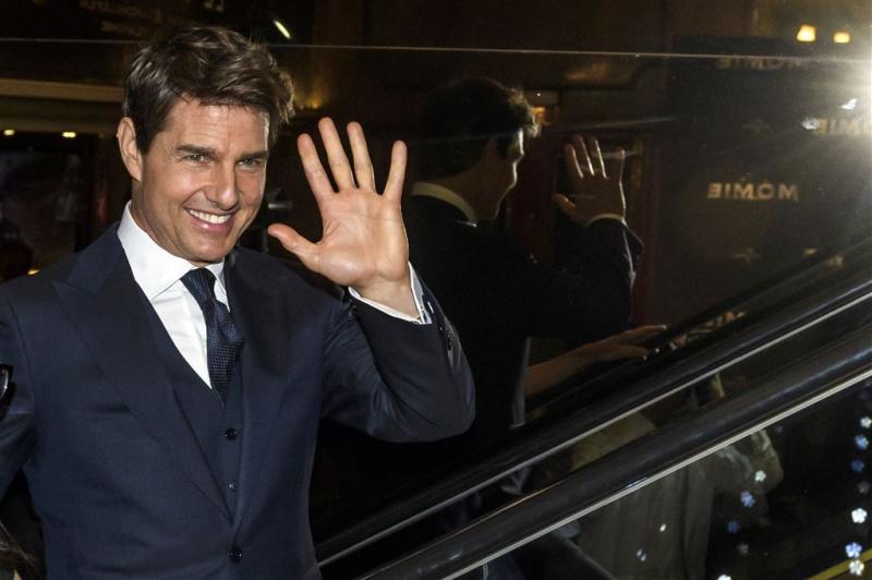 Tom Cruise gewond tijdens stunt