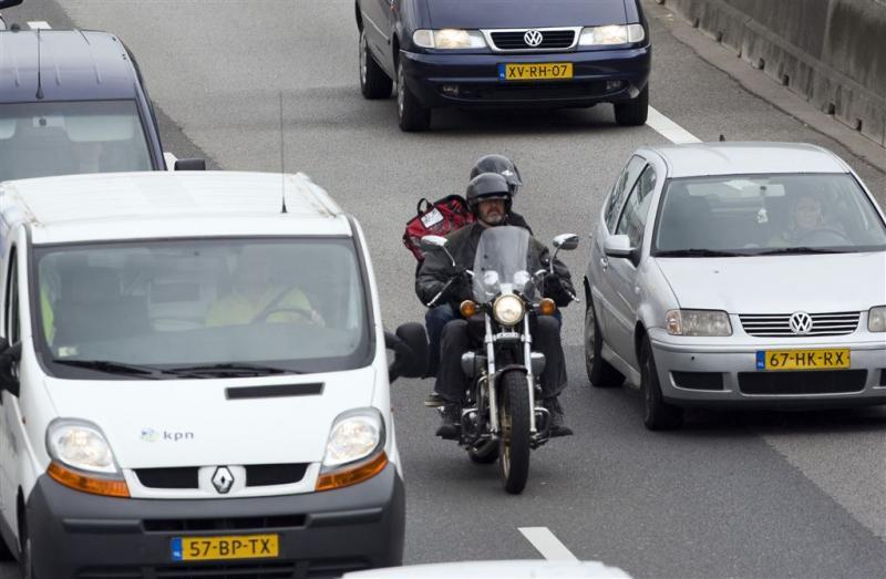 Motorrijders massaal op de bon geslingerd