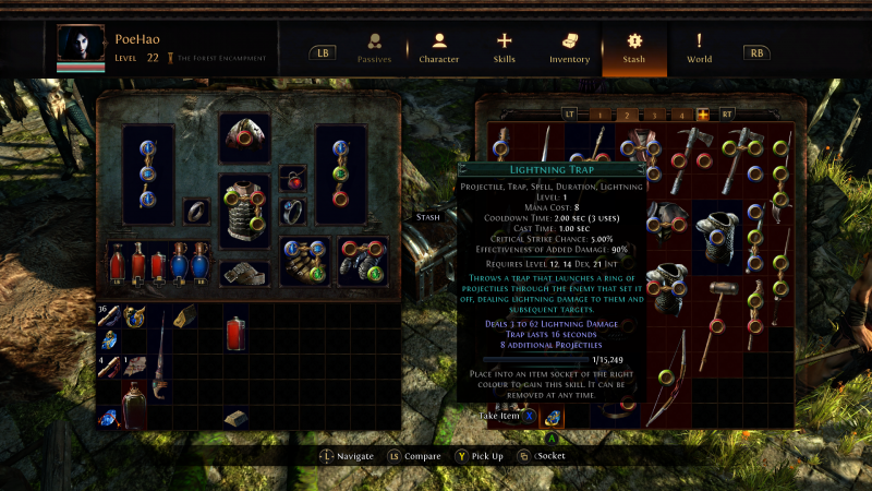 Path of Exile - Stash