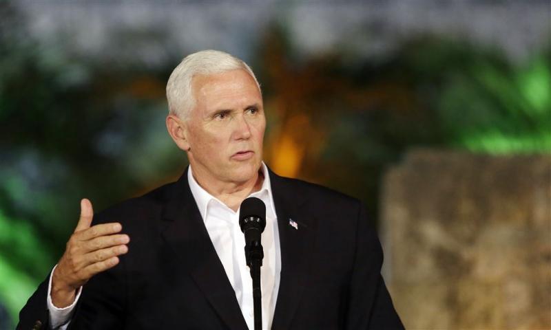 Pence noemt Venezuela 'bedreiging voor de VS'