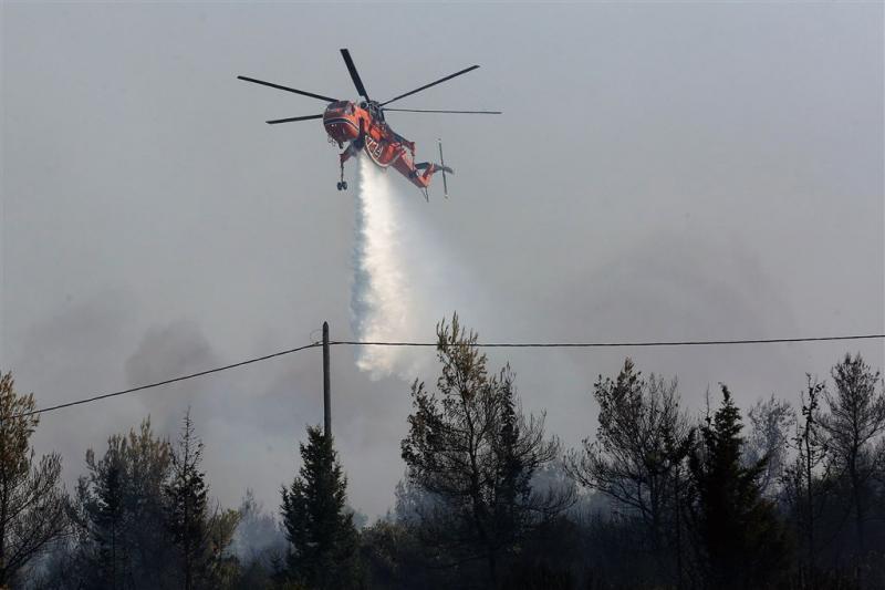 Grote natuurbrand bij Athene onder controle