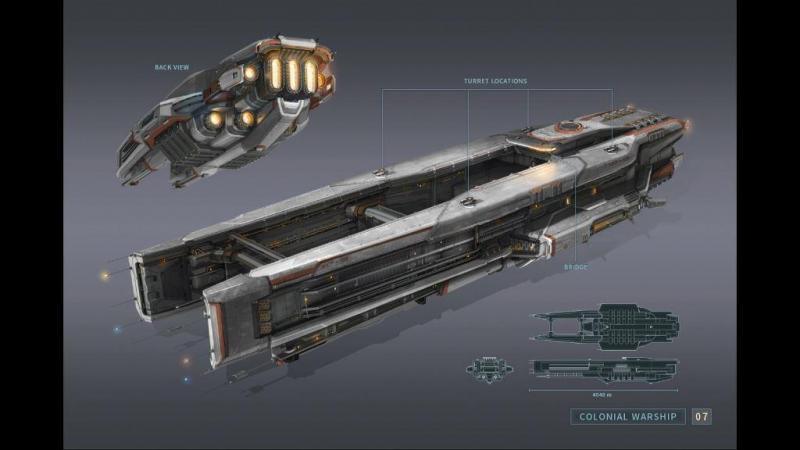 Everspace - Artbook - Warship